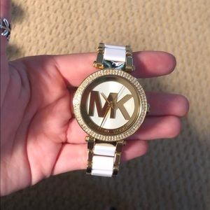 gently used Michael Kors watch